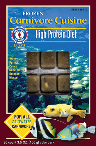 San Francisco Bay Frozen Carnivore Cuisine Cube Pack 3.5oz.