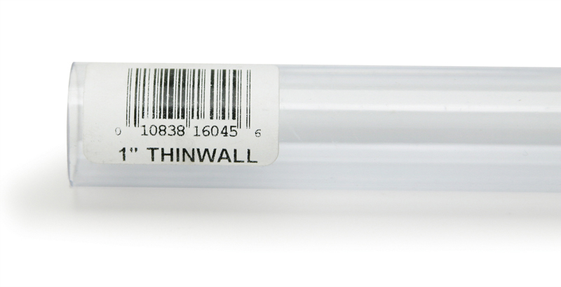 "Lee's Rigid Thinwall Tubing 1"" x 36"""