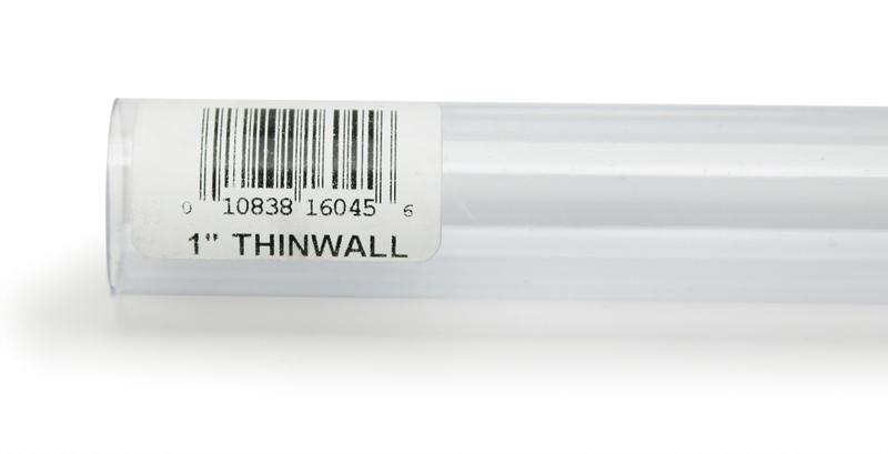 """Lee's Rigid Thinwall Tubing 1"""" x 36"""""""