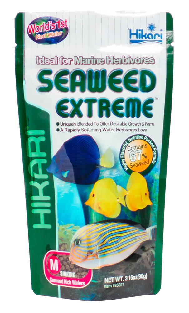Hikari Seaweed Extreme Medium Sinking Wafer 90g/3.16oz