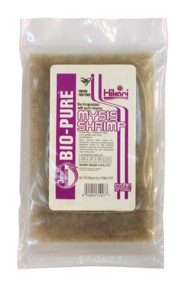 Hikari Bio-Pure Frozen Mysis Shrimp Flat Pack 8oz.