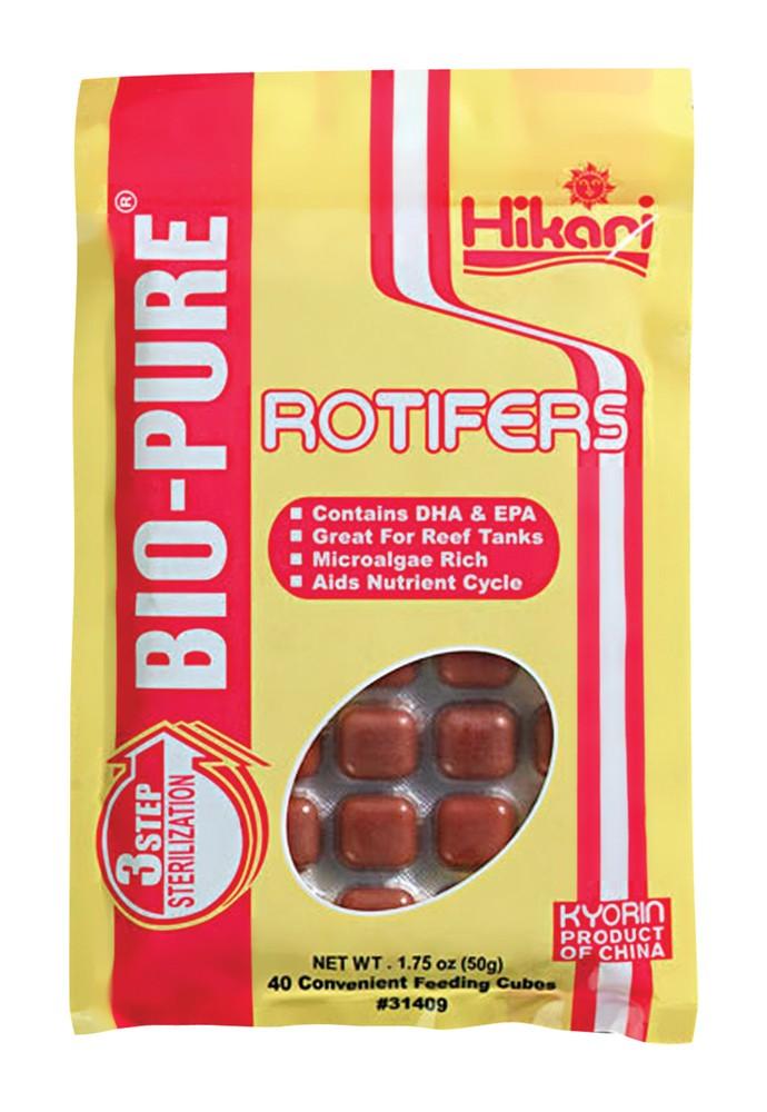 Hikari Bio-Pure Frozen Rotifers Cube Pack 1.75oz