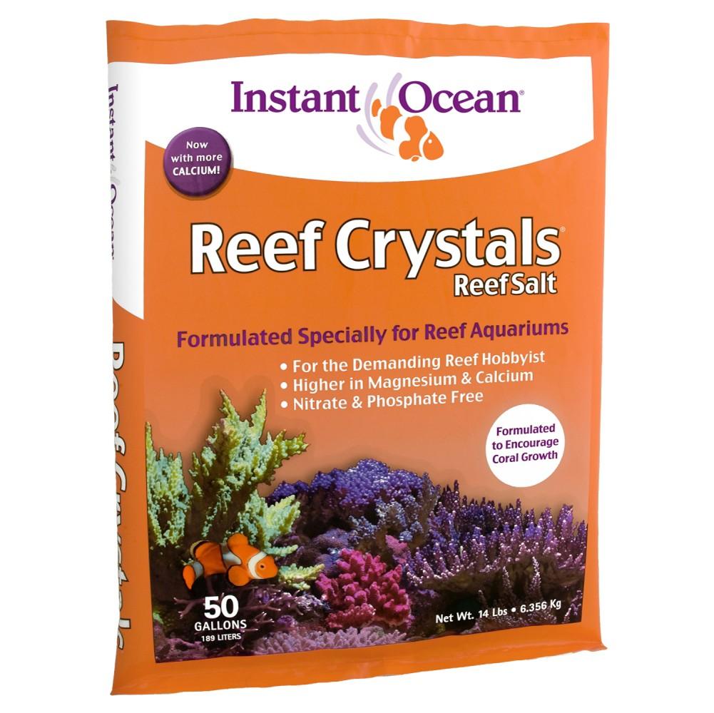 Instant Ocean 200 Sea Salt : Something fishy aquarium supplies salt instant