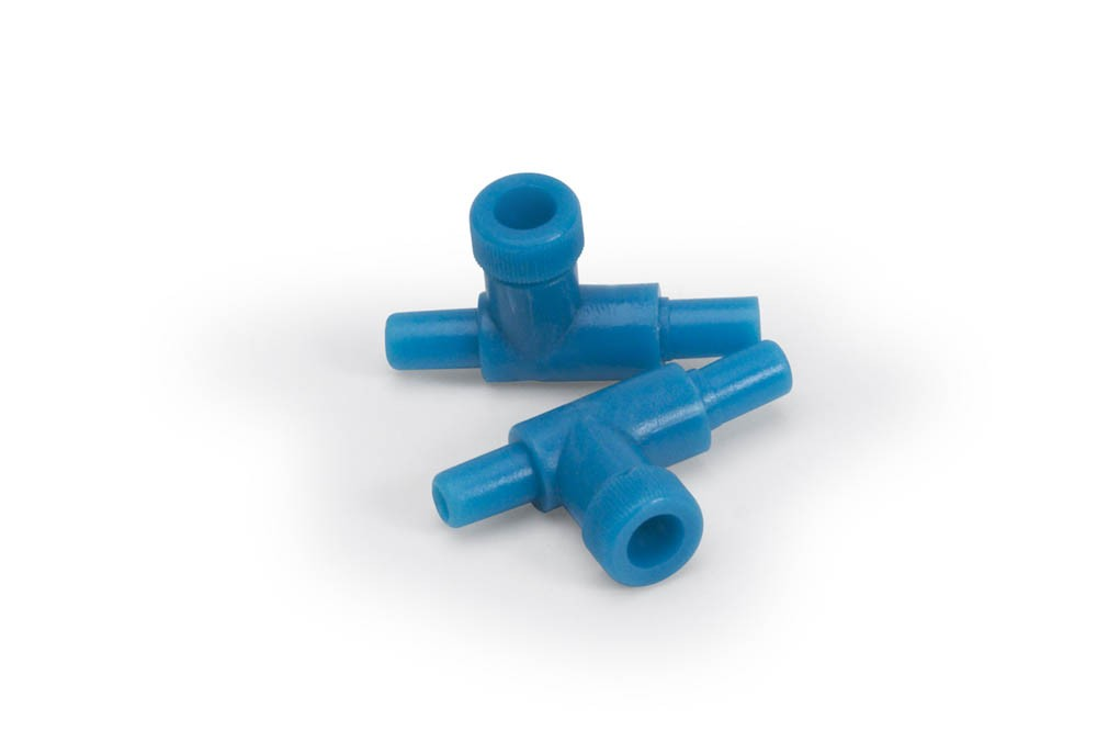 Lee's Two-Way Plastic Valve for Airline Tubing, 2-Pack
