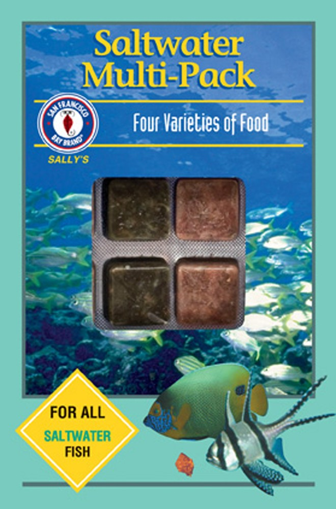 San Francisco Bay Frozen Saltwater Multi-Pack Cube Pack 3.5oz.