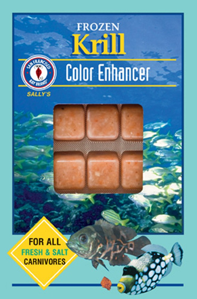 San Francisco Bay Frozen Krill Cube Pack 3.5oz.