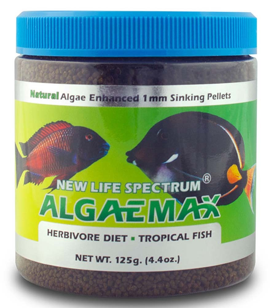 Spectrum AlgaeMAX Pellets 125gm (4.4oz)