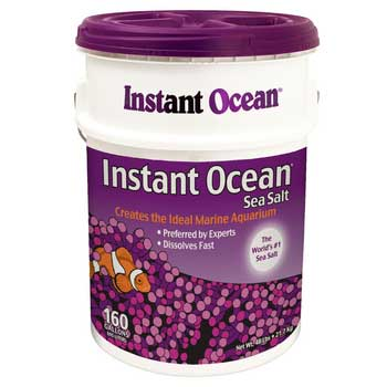 Instant Ocean Sea Salt 160-Gallon Mix Pail