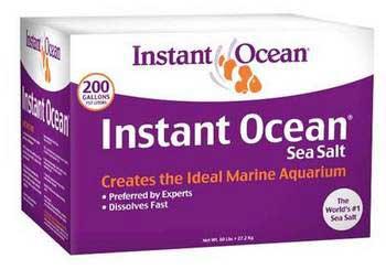 Instant Ocean Sea Salt 200-Gallon Mix Box