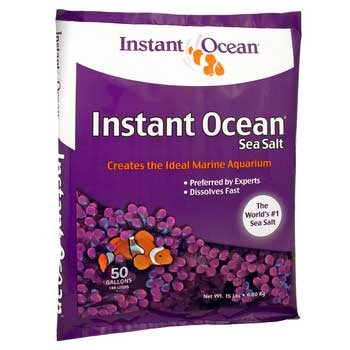 Instant Ocean Sea Salt 50-Gallon Mix Bag