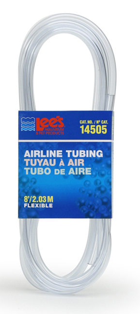Lee's Airline Tubing Clear 8ft
