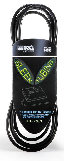 Lee's Airline Tubing Sleek Black 8ft