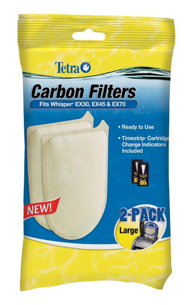 Tetra Whisper EX Carbon Filter Large 2pk