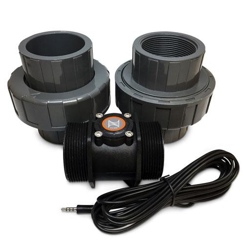 "Neptune FS-200 - Flow Sensor 2"" with unions"