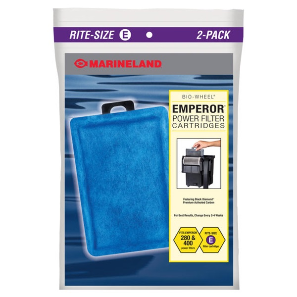 MarineLand Rite Size E Filter Cartridge 2-Pack