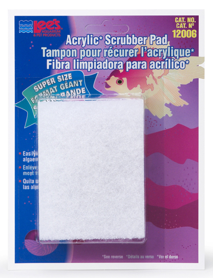 Lee's Fine Algae Scrubber Pad for Acrylic