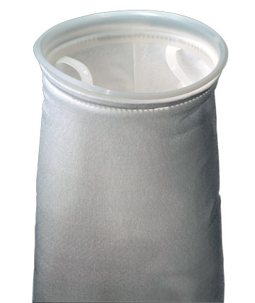 Filter Bag with Plastic Ring 7""