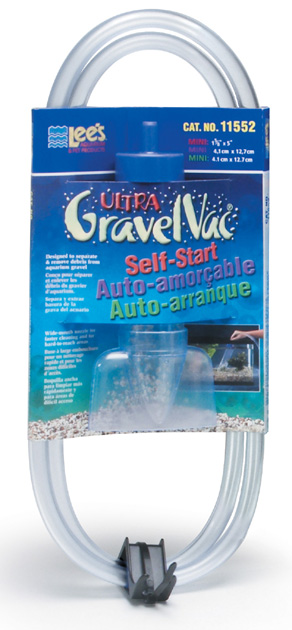 Lee's Self-Start Gravel Vac Mini with Nozzle 5""