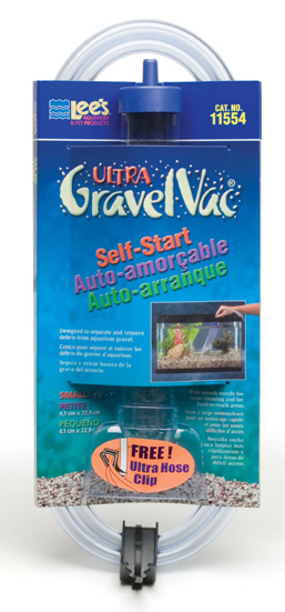 """Lee's Self-Start Gravel Vac Small with Nozzle 9"""""""