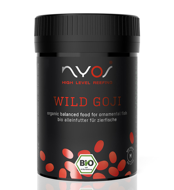 Nyos Wild Goji Fish Pellet 120ml (2.5oz)