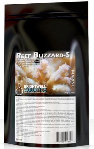 Brightwell Aquatics Reef Blizzard-S Planktonic Blend, 50g