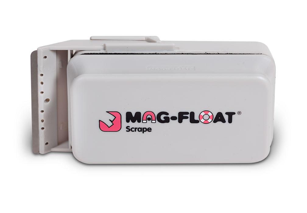 Mag-Float Floating Magnet Glass Aquarium Cleaner w/ Scraper Attachment 400gal