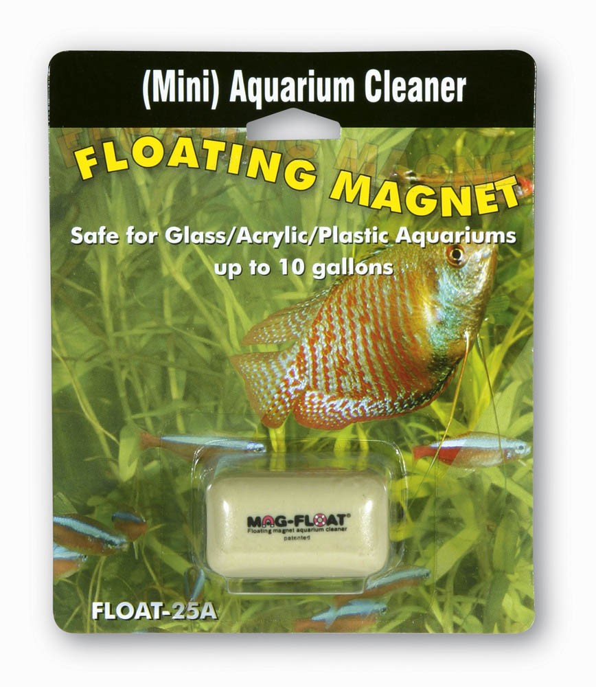 Mag-Float Floating Magnet Glass/Acrylic Cleaner Mini 10gal