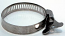 """1"""" to 1.5"""" Hand Tighten Stainless Steel Hose Clamp"""