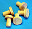 Ceramic Coral Frag Plugs 50-Pack