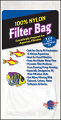"Nylon Filter Bag With Draw String Small 3"" x 8"""