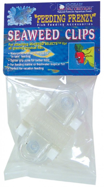 Ocean Nutrition Feeding Frenzy Seaweed Clips 2-Pack