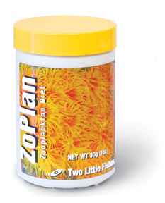 Two Little Fishies ZoPlan Advanced ZooPlankton Diet 30g/1oz.