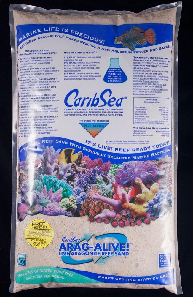 Carib Sea Arag-Alive Fiji Pink Sand 20lb