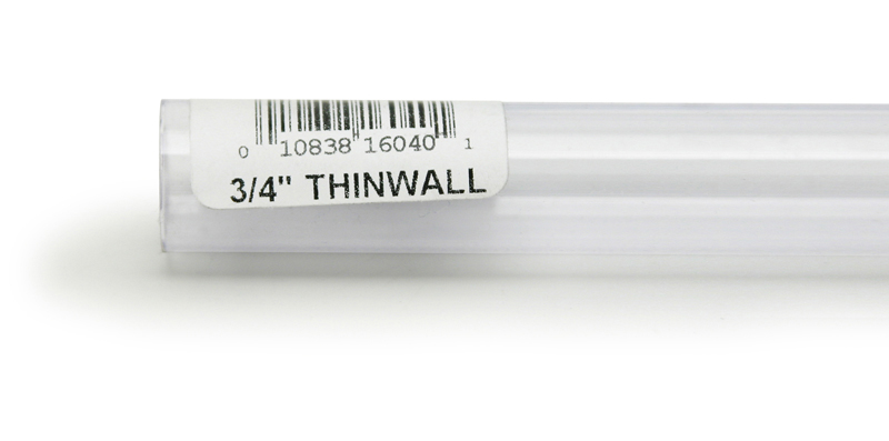 "Lee's Rigid Thinwall Tubing 3/4"" x 36"""