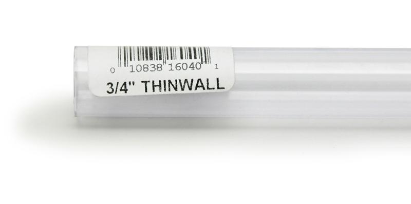 """Lee's Rigid Thinwall Tubing 3/4"""" x 36"""""""