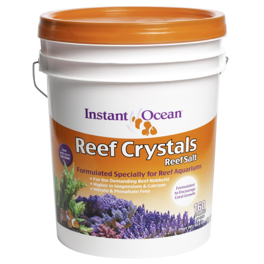 Instant Ocean Reef Crystals Sea Salt 160-Gallon Mix Pail