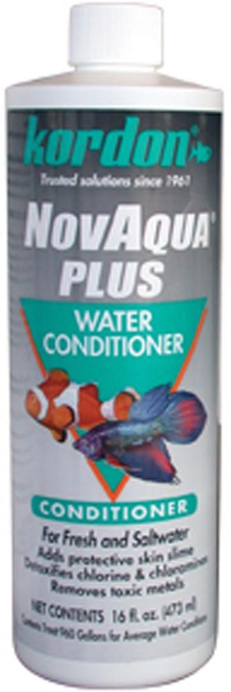 Kordon NovAqua Plus Water Conditioner & Dechlorinator 16oz.