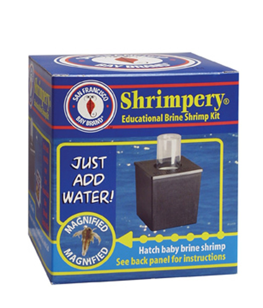 San Francisco Bay Brine Shrimp Shrimpery Hatching Kit