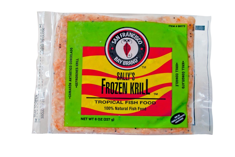 San Francisco Bay Frozen Krill Flat Pack 8oz.