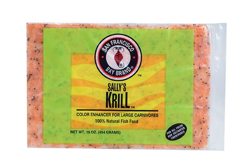 San Francisco Bay Frozen Krill Flat Pack 16oz.