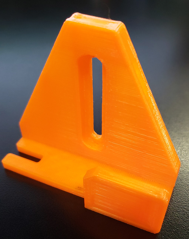 Mounting Bracket for Apex Display, Orange