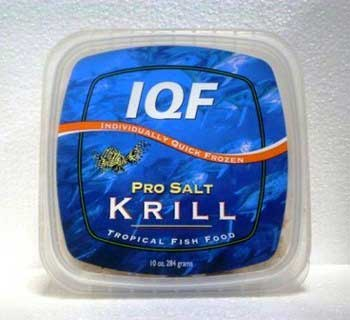 Pro Salt IQF Whole Krill 10oz.