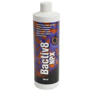 Julian Sprung's Reef Formula Bactiv8 NPX Biological Filtration Aid 500ml