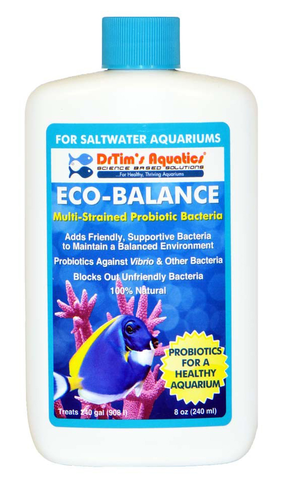 Dr. Tim's Eco-Balance Probiotic Bacteria for Saltwater 8oz