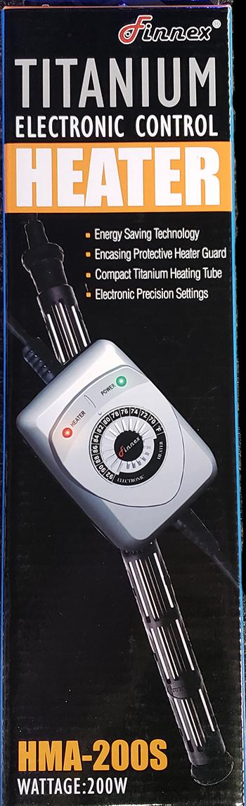 Finnex 200w Titanium Heater