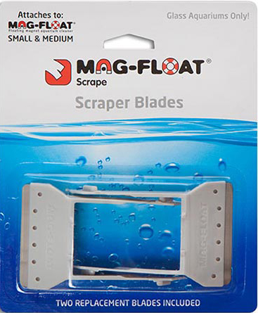 Mag-Float Scraper Blades for Small (30-Gallon) and Medium (125-Gallon) Magnets, 2-Pack