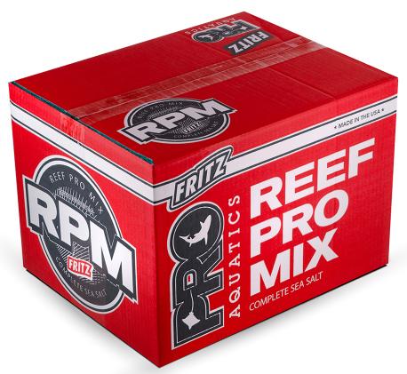 Fritz RPM Redline High Alk Complete Marine Salt, 55lb box