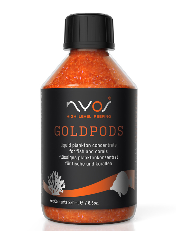 Nyos Goldpods Liquid Plankton 8.5oz (250ml)