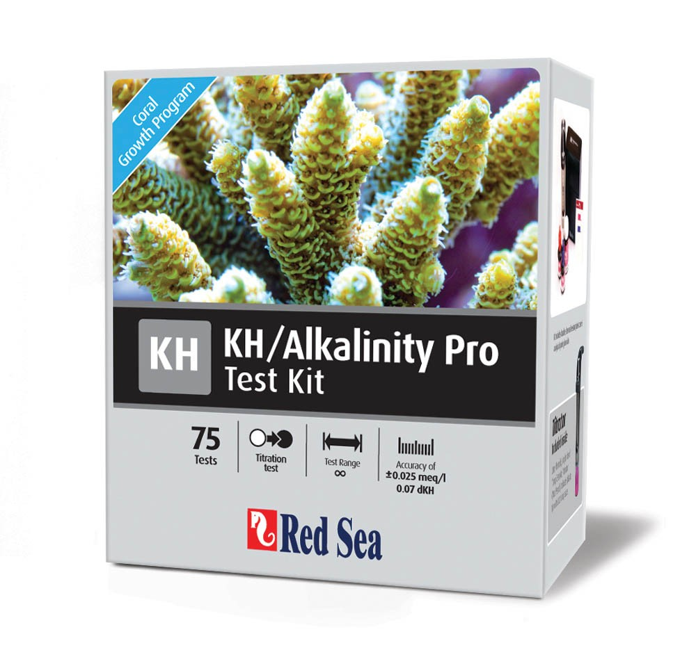 Red Sea Pro High-Accuracy KH Alkalinity Test Kit