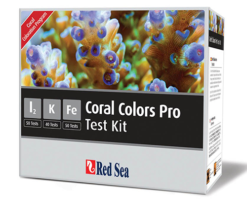 Red Sea Pro High-Accuracy Trace Colors Multi Test Kit